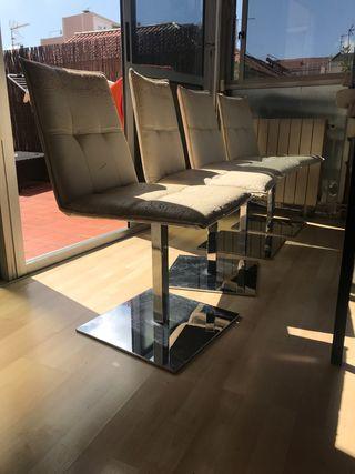 4 sillas diseño