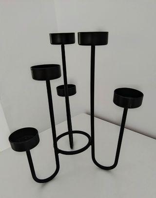 Candelabro moderno 6 velas