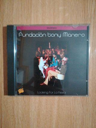 """Cd Fundación Tony Manero """"Looking for la fiesta"""""""