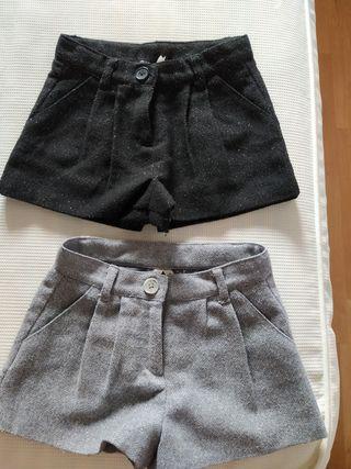 Pantalón corto de invierno