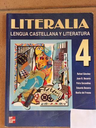 Libro lengua cuarto Eso