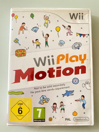 NINTENDO WII PLAY MOTION