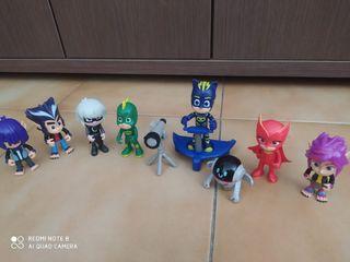 Muñecos de los PJMASK