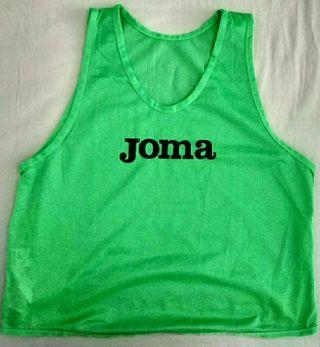 Peto entrenamiento Joma talla XL verde