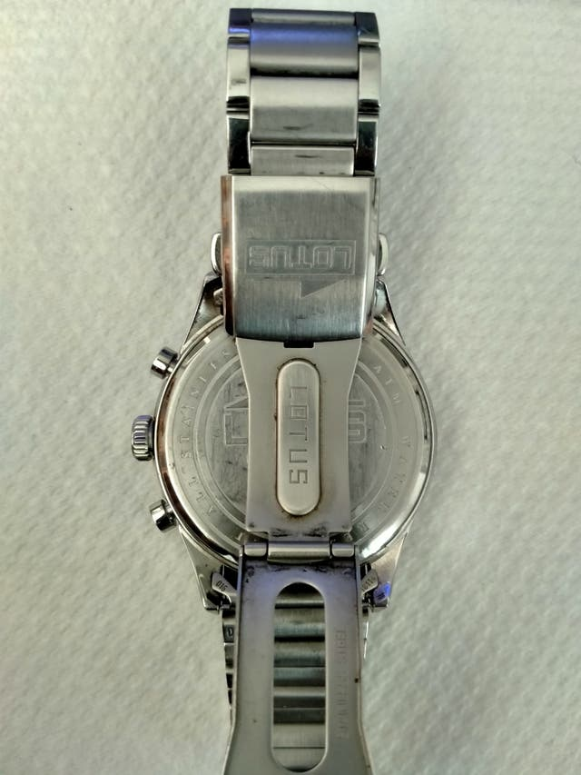 Reloj Lotus cronógrafo.