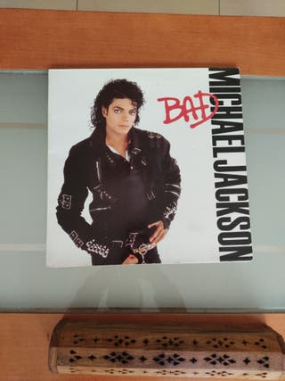 Disco vinilo Michael Jackson: BAD