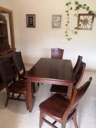 Juego de comedor (6 sillas)