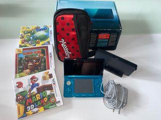 NINTENDO 3DS AQUABLUE