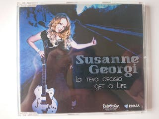 CD Single Eurovision - Susanne Georgi - Andorra