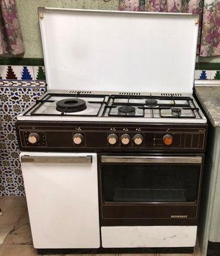 cocina butano y horno