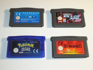 Lote Pack juegos Game Boy Advance.