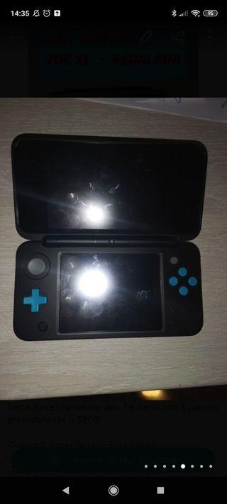 Nintendo 2dsxl + juegos