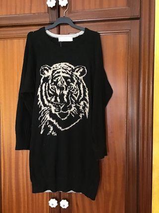 Sweater jersey oversize Zara