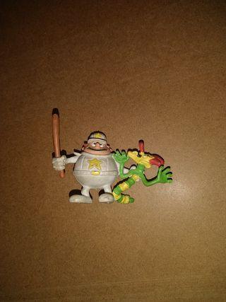 muñeco de goma o PVC