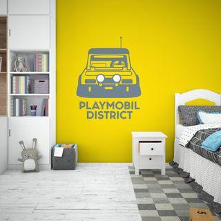 PLAYMOBIL coche vinilo