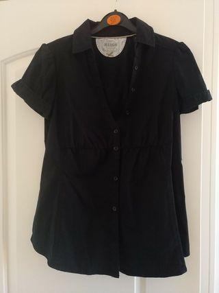 Camisa Mango Negra