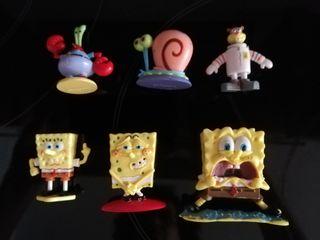 Muñecos Bob Esponja PVC