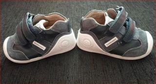 zapatos bebe niño Biomecanics primeros pasos