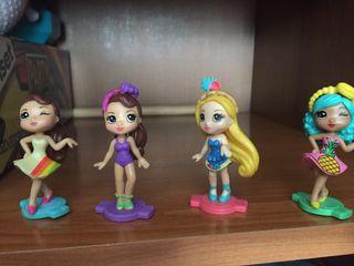 Lote de muñecas como nuevas
