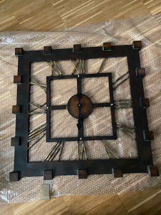 Reloj vintage de pared grande
