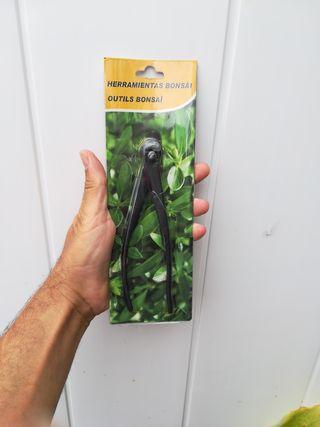 herramienta bonsai alicate corta alambre