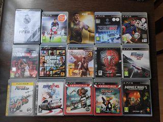 Lote juegos PS3. También por separado