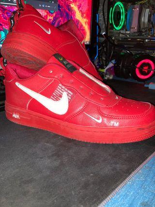 Nike air rojas