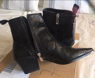 Botines Zara negras