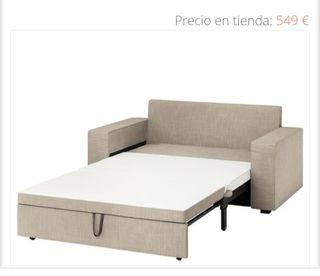 Sofá cama 2 plazas, VILASUND (tienda 549€)