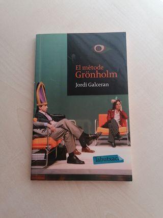 "Llibre ""El metode Gronholm"""