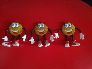 Muñecos galletas doraditas PVC
