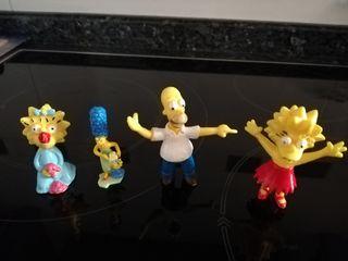 Muñecos Los Simpson PVC