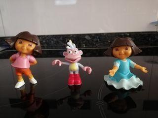 Muñecos PVC Dora y Botas