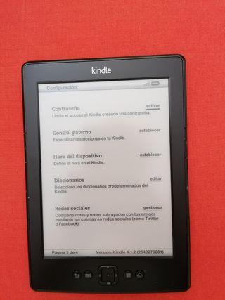 Libro Electrónico KINDLE 4. Amazon