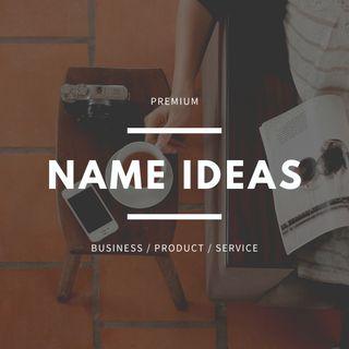 Ideas de Nombres originales para negocios o marcas