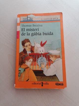 Llibre: El misteri de la gabia buida.