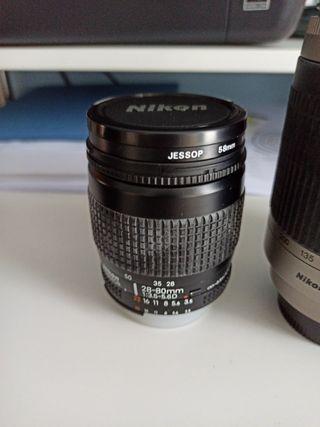 Cámara analógica réflex Nikon N6006