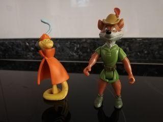 Muñecos Robin Hood PVC