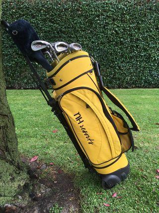 Juego de bolsa de golf con palos adulto