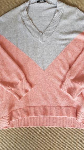 jersey intarsia bicolor