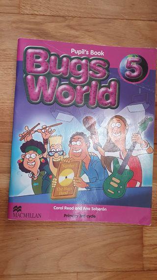 libro inglés 5 de primaria
