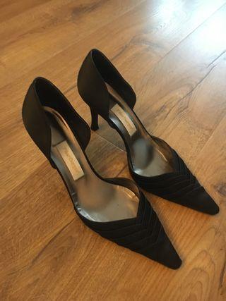 Zapatos fiesta negros