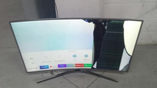 tv plasma Samsung curve 49 pulgadas pantalla rota