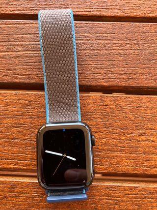 Apple watch series 5 acero inoxidable 44mm