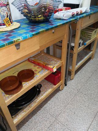Mesa trabajo cocina
