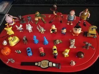 Muñecos varios PVC