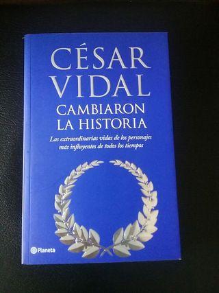 Libro: Cambiaron la historia, de César Vidal