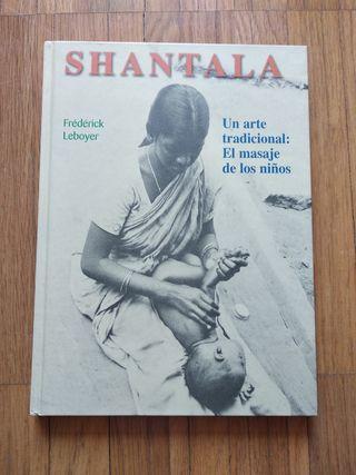 Libro Shantala masaje para bebes