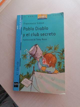 Libro: Pablo Diablo y el club secreto.