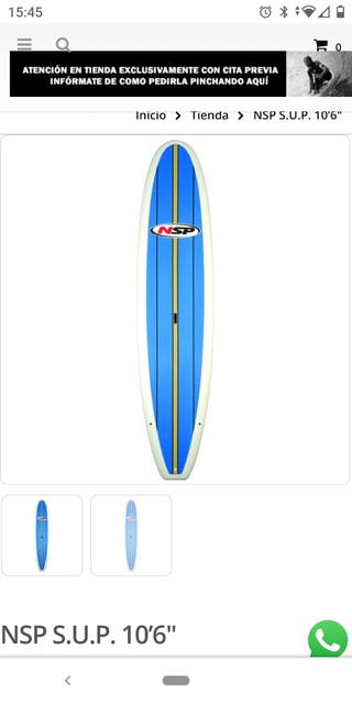 tabla rígida de paddle surf
